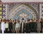 cérémonies de remise des grades aux officiers de l'université imam hussayn (as)