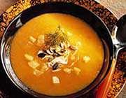 soupe au potiron et aux épices