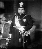 un des rois de la dynastie qajare