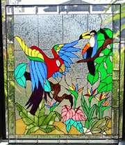 هنر ویترای یا نقاشی روی شیشه