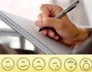 نوشتن در دفترچه یادداشت
