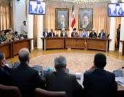 le guide suprême et les responsables provinciaux de la province d'azerbaïdjan oriental