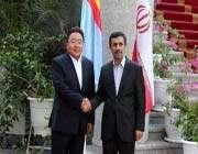الرئيس المنغولي و الایراني