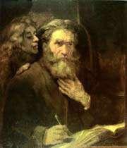 autoportrait de saint matthieu