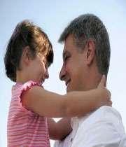 الاب و البنت