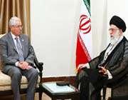 le guide suprême et le président du parlement algérien
