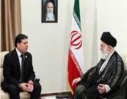le guide suprême et le premier ministre syrien