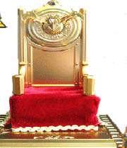 un trône