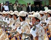 une base militaire dans la ville de bojnurd