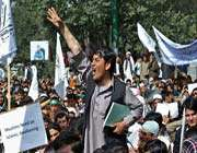 afghans stage fresh protests against anti-islam film, cartoons