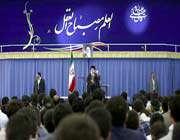 rencontre des participants au sixième colloque national de jeunes élites iraniens avec le guide suprême