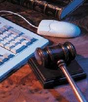 جرایم رایانه ای-حقوق اینترنتی
