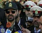 le commandant adjoint de la police iranienne