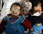 убийство палестинских детей