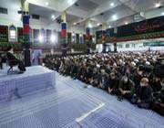rencontre des centaines de membres des forces révolutionnaires du bassijj avec l'ayatollãh khãmenei