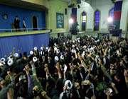 audience accordée à des milliers d'habitants de la ville de qom