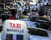 les taxis manifestent à marseille