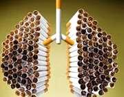 تأثیر سیگار بر ریهها