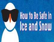 how to be safe in ice and snow