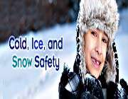 cold, ice and snow safety