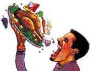 زیادہ کھانے کی مذمت