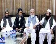 ديني جماعتوں کے رہنماوں کا غير رسمي اجلاس