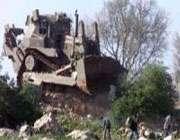 صيہوني فوجيوں کا ايک بار پھر غزہ پٹي پر حملہ