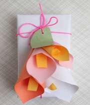 آموزش ساخت گلهای شیپوری کاغذی