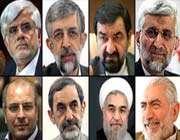 ایران میں صدارتی انتخابات کے لئے آٹھ افراد کے کاغذات نامزدگی منظور