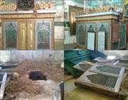 رسول (ص ) کے صحابی کی قبر کی بےحرمتی