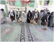 غبارروبی مساجد