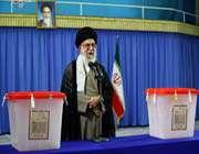 le guide suprême a voté à la 11ème élection présidentielle et aux 4èmes élections municipales