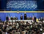 la cérémonie officielle d'investiture du nouveau président iranien