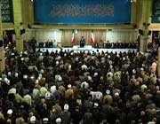 l'ayatollãh khãmenei a reçu en audience les responsables de la république islamique