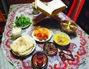 скатерты ифтара ирана