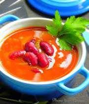 soupe aux haricots rouges