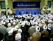audience accordée aux imams de la prière collective