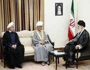 rencontre du guide suprême de la révolution islamique avec le sultan qabus
