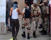 کراچی آپریشن، درجنوں گرفتار
