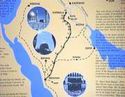 the route of imam hussein from mekka to karbala