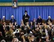 audience accordée aux responsables et aux invités de la conférence sur l'unité islamique