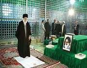 le guide suprême de la révolution islamique d'iran