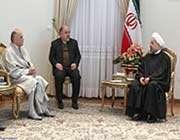 la rencontre du président avec le nouvel ambassadeur tunisien