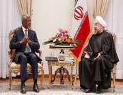 صدر مملکت سے کوفی عنان کی ملاقات