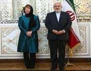 تہران میں ظریف اور اشٹون کی پریس کانفرنس