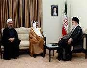 le guide suprême de la révolution a reçu l'émir du koweït
