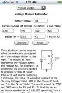 نرم افزار ماشین حساب circuit calculators v1.2