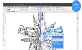 طراحی حرفه ای داخل ساختمان ها با bricscad pro14.2.17