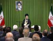 rencontre les fonctionnaires de la diplomatie iranienne avec guide suprême