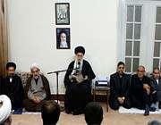 rencontre du guide suprême avec les responsables de l'organisation du hajj